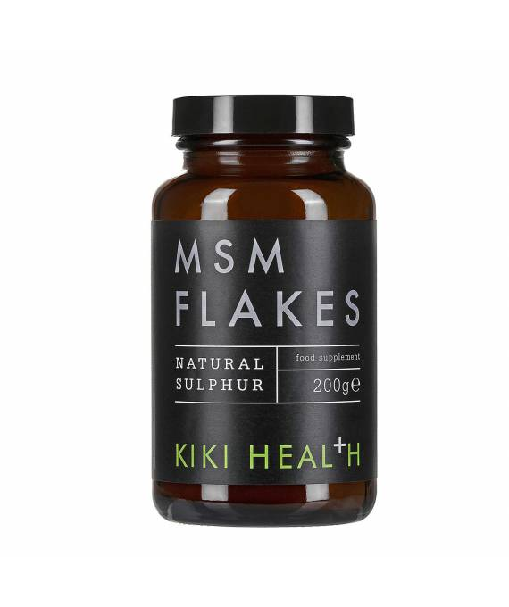 MSM Flakes 200 gr -Kiki Health
