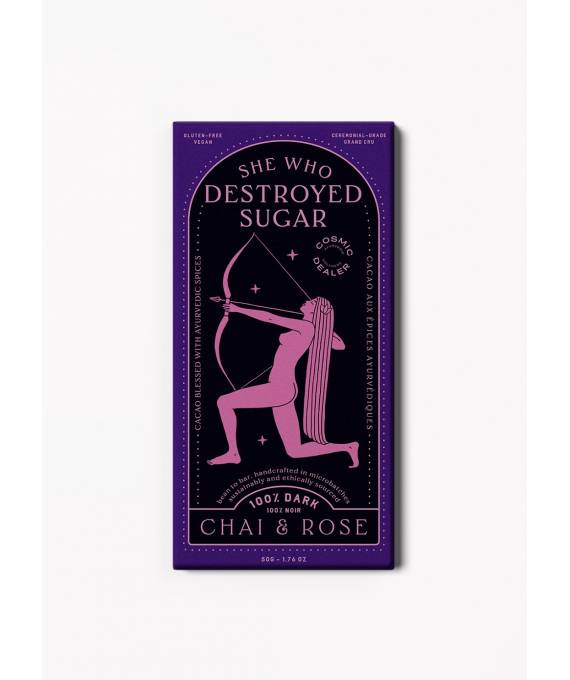 Cacao Artesanal Chai & Rose - Cosmic Dealer