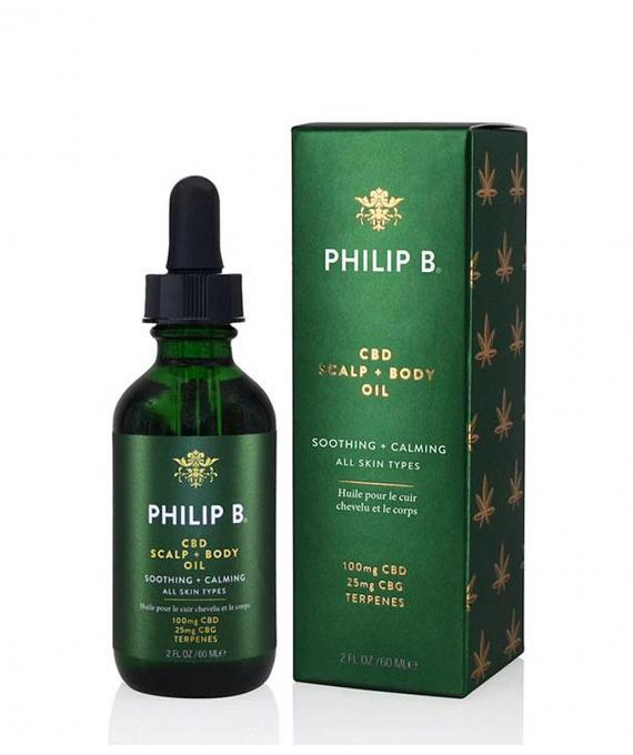 CBD Scalp and Body Oil - Philip B
