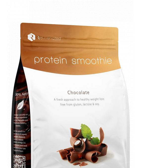 Protein Smoothie Chocolate - Rejuvenated