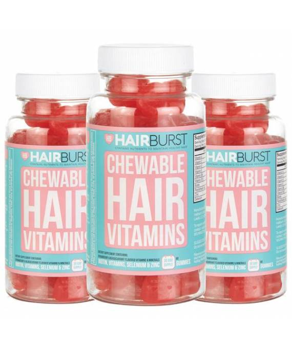 Hairburst Vitaminas Masticables (3 meses)