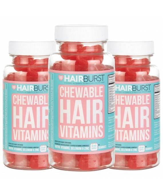 Hairburst Vitaminas Masticables (3 meses)