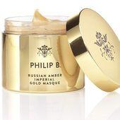 La novedad de la semana es Russian Amber Imperial Gold Masque de @philipb - No se llama Gold por nada, esta irresistible mascarilla capilar tiene una decadente y luminosa textura de color oro. Un tratamiento capilar único para transformar todo tipo de cabello, incluso el más seco y apagado #philipb